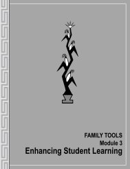 FAMILY TOOLS Module 3: Enhancing Student Learning