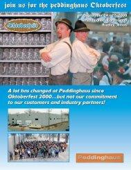 Join Us For The Peddinghaus Oktoberfest