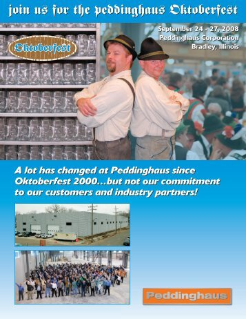 Join Us For The Peddinghaus Oktoberfest