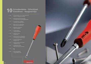 Schraubendreher - Stiftschlüssel Screwdrivers ... - Peddinghaus