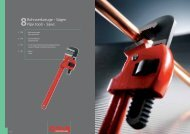 Rohrwerkzeuge - Sägen Pipe tools - Saws - Peddinghaus