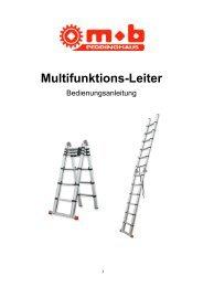 Multifunktions-Leiter - Peddinghaus