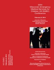 Conference Brochure - Department of Pediatrics - University of ...