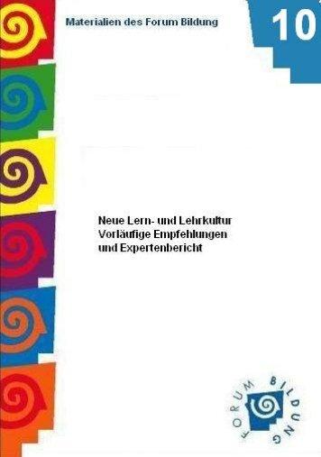 Neue Lern- und Lehrkultur - peDOCS