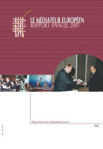 Rapport annuel 2001 - EOI