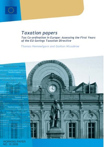 The international tax system - European Commission - Europa
