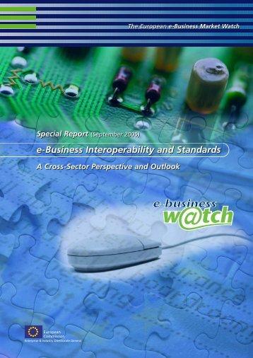 e-Business Interoperability and Standards e-Business ... - Umic