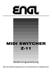 MIDI SWITCHER Z-11 - Engl