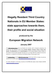 Illegally Resident Third Country Nationals in EU Member States