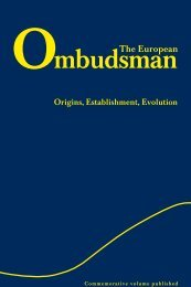 Download this publication in PDF format - The European Ombudsman