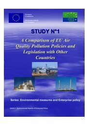 Comparison of EU Air Pollution Policies and Legislation with Other ...