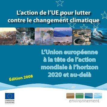 L'Union européenne à la tête de l'action mondiale à l'horizon 2020 ...