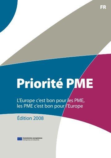 FR L'Europe c'est bon pour les PME, les PME c'est bon pour l ...
