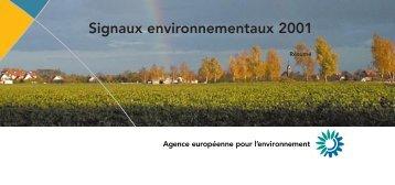 Signaux environnementaux 2001