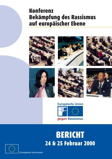 European Conference on combating racism at European level DE