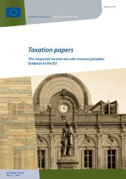 Taxation papers - European Commission - Europa