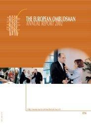 Annual report 2002 - EOI