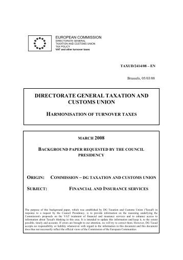 taxud/2414/08 - European Commission - Europa