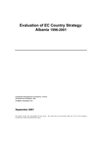 Final Report - European Commission - Europa
