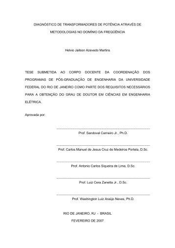 ω - Programa de Engenharia Elétrica - UFRJ
