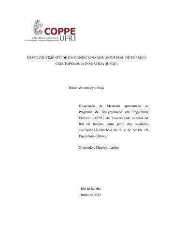 iUPQC - Programa de Engenharia Elétrica - UFRJ