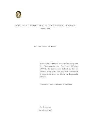 Tese Coppe - Programa de Engenharia Elétrica - UFRJ