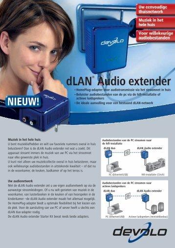 dLAN® Audio extender - Devolo