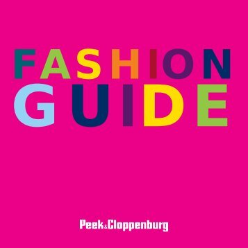 FASHION - Peek & Cloppenburg