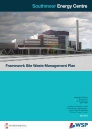 Framework Site Waste Management Plan - peel.co.uk