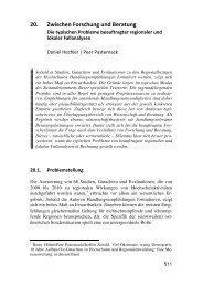 20. Zwischen Forschung und Beratung - Peer Pasternack