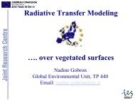 Vegetation Radiative Transfer Modelling (Nadine Gobron) - PEER