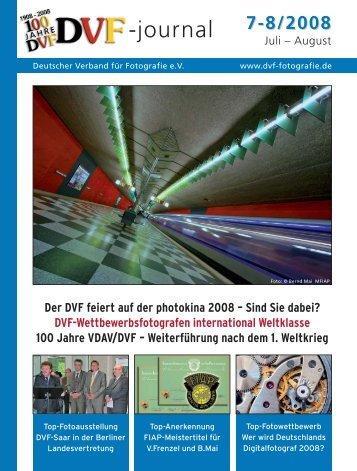 Der DVF feiert auf der photokina 2008 - Deutscher Verband für ...