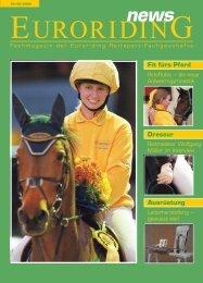 Dressur Ausrüstung Fit fürs Pferd - Euroriding
