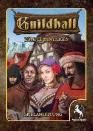 Spielregeln - Guildhall - Pegasus Spiele