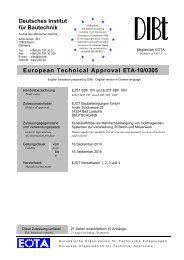 European Technical Approval ETA-10/0305 - EJOT