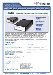 PosiStep - Mclennan Servo Supplies Ltd.