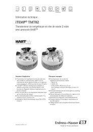 iTEMP® TMT82 - PEI-FRANCE.com