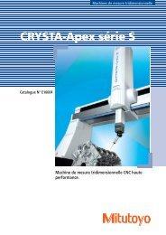 CRYSTA-Apex série S - PEI-FRANCE.com