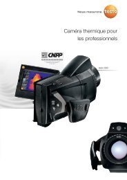 Caméra thermique pour les professionnels - PEI-FRANCE.com