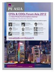 CFOs & COOs Forum Asia 2012 - PEI Media
