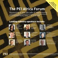 The PEI Africa Forum - PEI Media