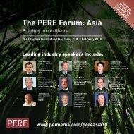 The PERE Forum: Asia - PEI Media