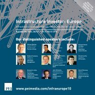 Infrastructure Investor: Europe - PEI Media
