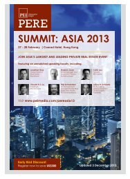 SUMMIT: ASIA 2013 - PEI Media