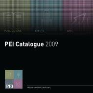 PEI Catalogue 2009 - PEI Media