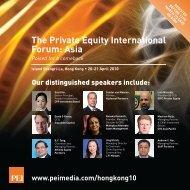 The Private Equity International Forum: Asia - PEI Media