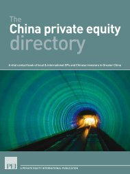 China private equity - PEI Media