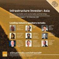Infrastructure Investor Asia - brochure - PEI Media