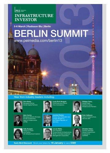 Berlin Summit 2013 - PEI Media