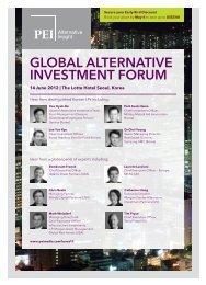 Global alternative investment Forum - PEI Media
